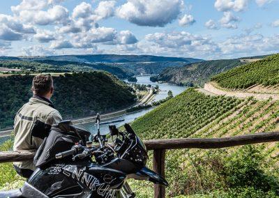 Motorradtour in Rüdesheim